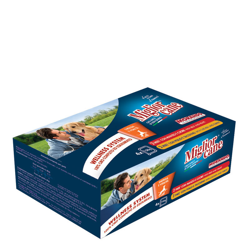 MULTIPACK DI VASCHETTE ASSORTITO X 4