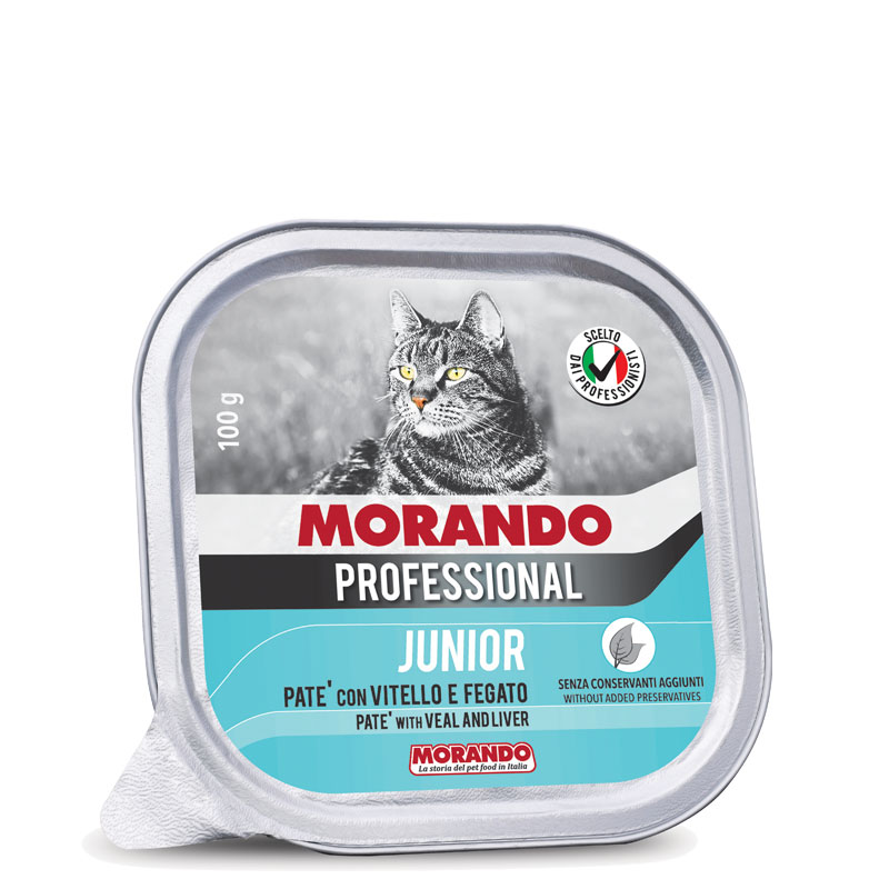 JUNIOR PATÈ CON VITELLO E FEGATO